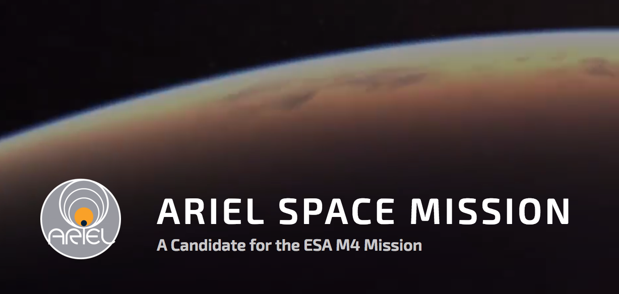 The ARIEL (Atmospheric Remote-sensing Exoplanet Large-survey) space mission has been selected by the European Space Agency (ESA) as the next medium-class science mission. Image source: ARIEL Space Mission / ESA. Image credit: None