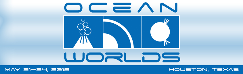 The 3rd Ocean Worlds takes place May 21-24, 2018 in Houston, TX. Source: LPI/USRA Image credit: None