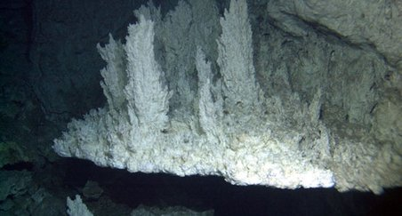 The active Lost City hydrothermal field, located at the Mid-Atlantic Ridge, is hosted by  rocks very similar to those from the Iberia continental margin analyzed in this study.  Lost City will be dril