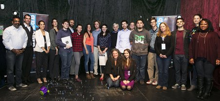 Participants of the FameLab Semi-Final Competition at the Rickshaw Stop in San Francisco on November 2, 2015. Photo credit: Ian Chin.