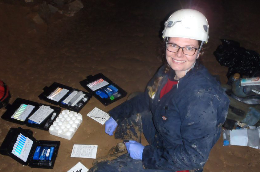 Magdalena Osburn has been selected as a 2017 Packard Fellow. Image source: Osburn Isotope Geobiology Lab Image credit:
