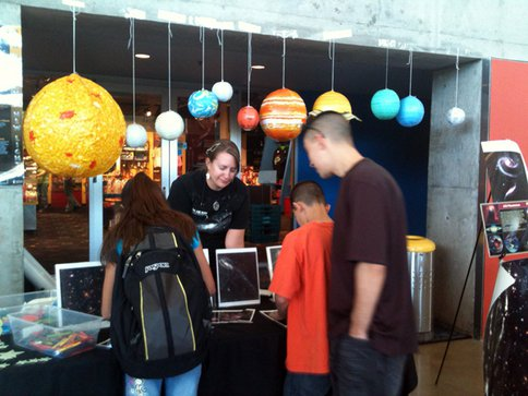 Figure 1: Arizona Science Center Family Event