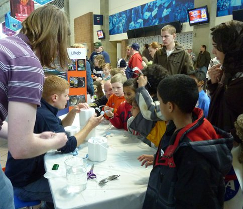 Students Learn About Astrobiology and Icy Worlds at Exploration Day 2011