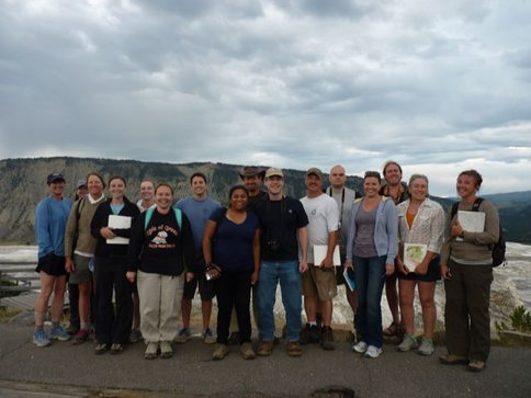 Teachers Study Astrobiology in Yellowstone National Park