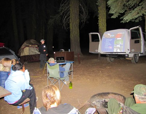 Campfire Gives New Meaning to Field Lecture