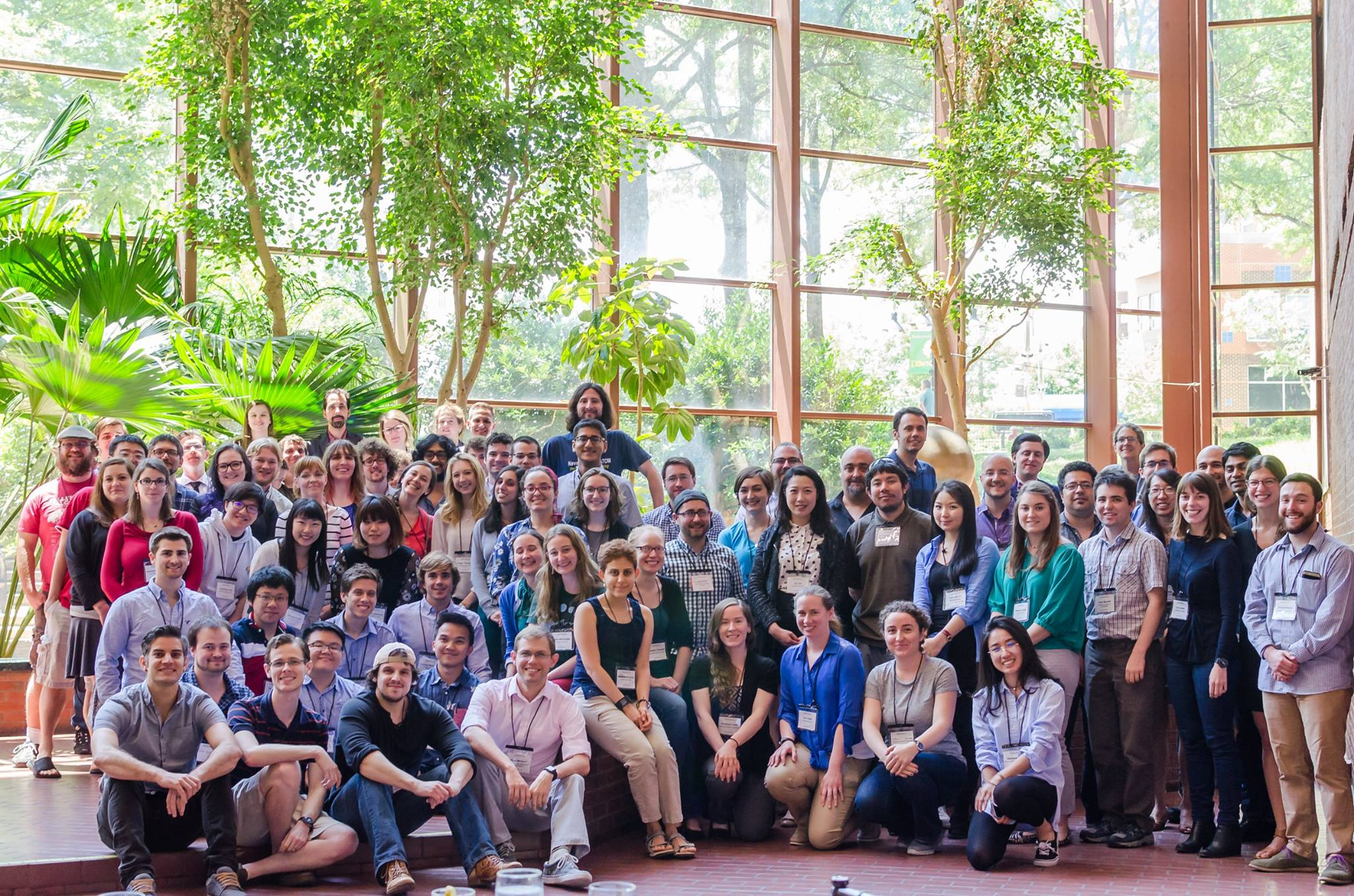 Participants at the Astrobiology Graduate Conference (AbGradCon) 2017 held in Charlottesville, VA. Image credit: None