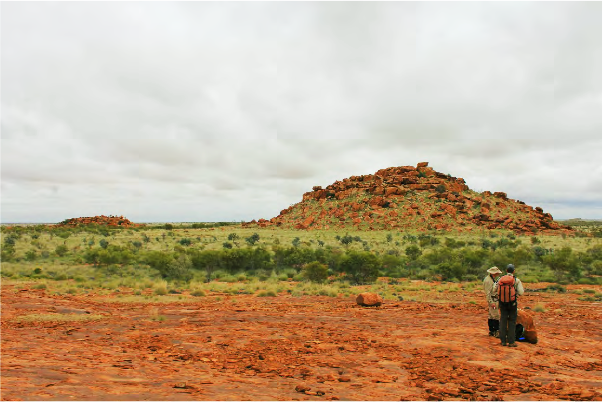 Gallery Hill in the Pilbara. Source: ACA/UNSW. Image credit: