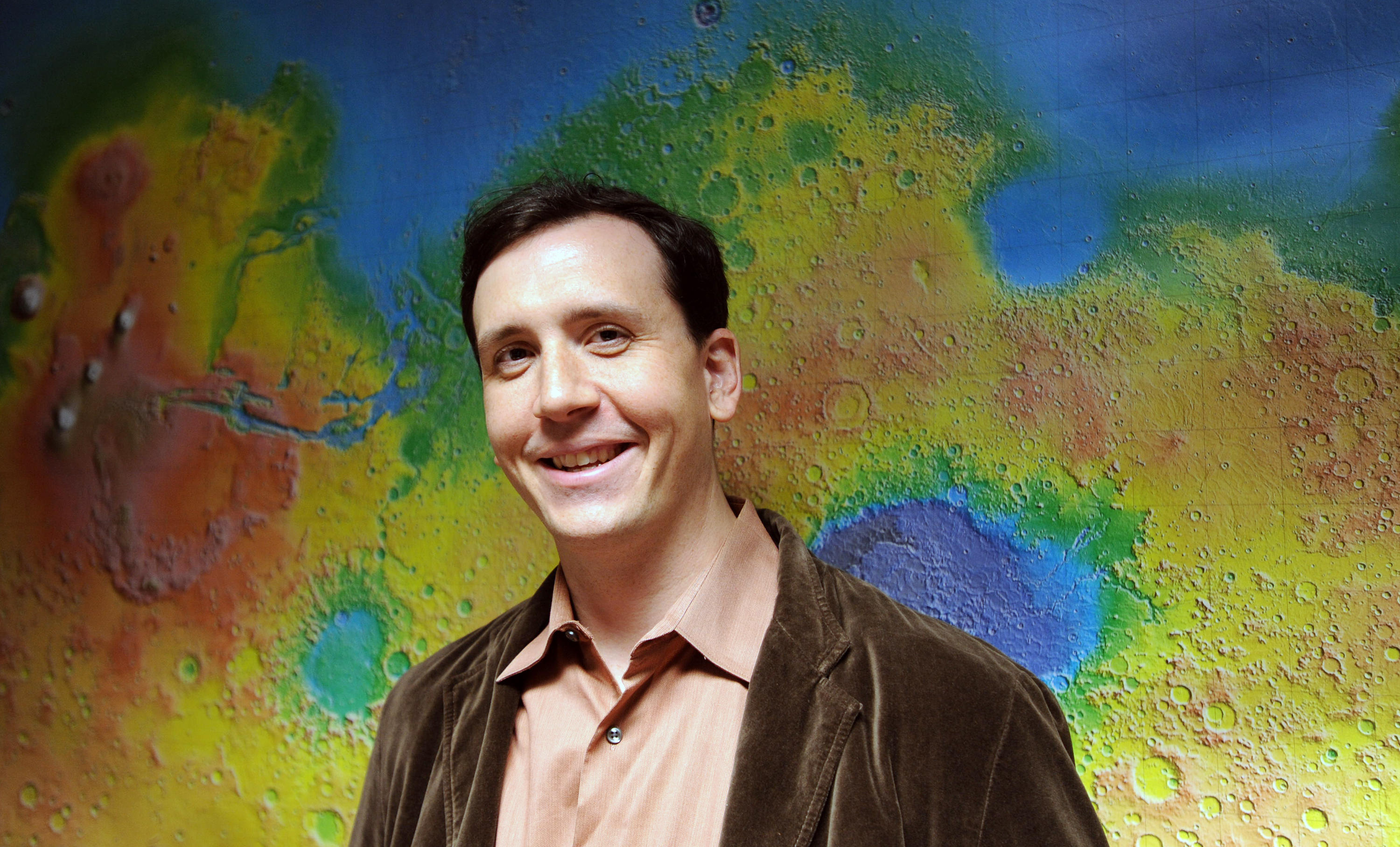 Shawn Domagal-Goldman honored with a NASA Early Career Achievement Medal. Image source: NASA Image credit: None