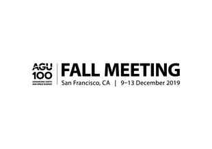 The 2019 AGU Fall Meeting will be held Dec 9-13, 2019, in San Francisco, California.