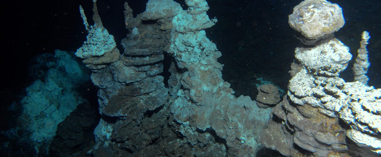 Loki's Castle is a hydrothermal vent field along the Arctic Mid-Ocean Ridge discovered by researchers from the Centre for Geobiology in Norway.