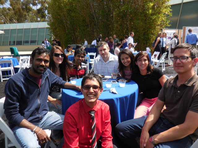 Members of the Krishnamurthy Lab at the Scripps Research Institute.