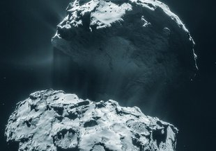 Comet 67P/Churyumov–Gerasimenko has ben visited by ESA's Rosetta spacecraft, and could receive another visit from a potential NASA mission called CAESAR.