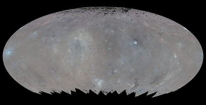 Ceres, Asteroids, and Us. Dawn spacecraft has detected organic compounds on the dwarf planet Ceres