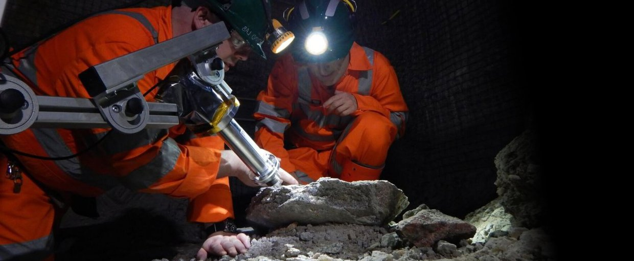 Scientists led by Charles Cockell of the UK Centre for Astrobiology ventured deep underground inside Boulby Mine in north-east England, to conduct experiments as part of the European Space Agency's Pangaea geology course for astronauts and scientists.