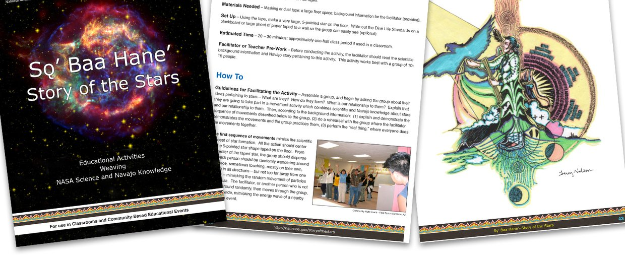 NASA and the Navajo Nation's First Educator Guide Image