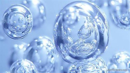 Oxygen bonds quickly with many other molecules. That means has to be resupplied regularly to be present as O<sub>2</sub> in an atmosphere . On Earth, O<sub>2</sub>  is mostly a product of biology, but elsewhere it might be result of non-biological processes. Here is an image of oxygen bubbles in water.