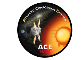 Mission logo for NASA's Advanced Composition Explorer.