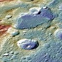 MESSENGER identified landforms that formed by horizontal shortening in response to cooling and contraction of the planetary interior.