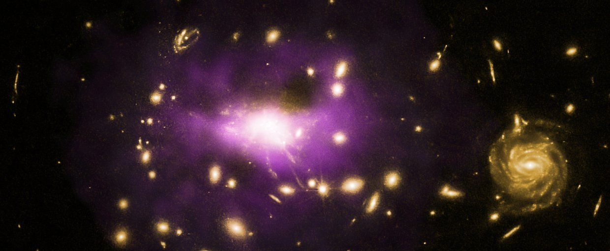 Chandra and a suite of other telescopes revealed one of the most powerful black holes known. The black hole (in galaxy cluster RX J1532) has created enormous structures in the hot gas surrounding it and prevented trillions of stars from forming.