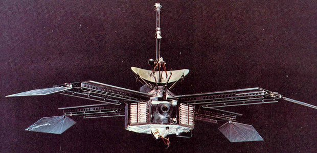 Artist's impression of Mariner 4. Credit: NASA