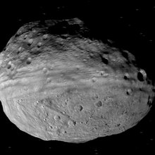 Image of Vest from the Dawn spacecraft.