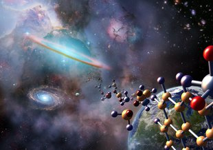 Which molecules formed RNA, and can we use them to identify where life may form in the Universe?
