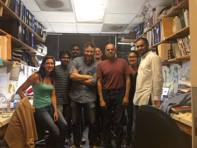 The Krishnamurthy Lab at the Scripps Research Institute.