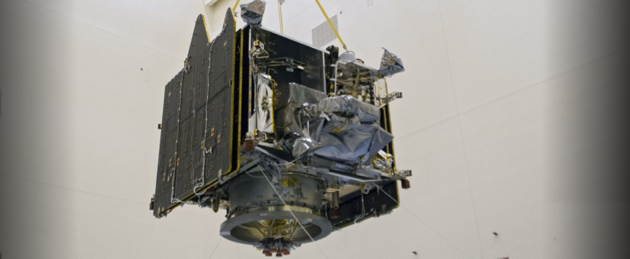 MAVEN arrives at NASA's Kennedy Space Center for launch processing.