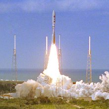 New Horizons Atlas V launch from Cape Canaveral.