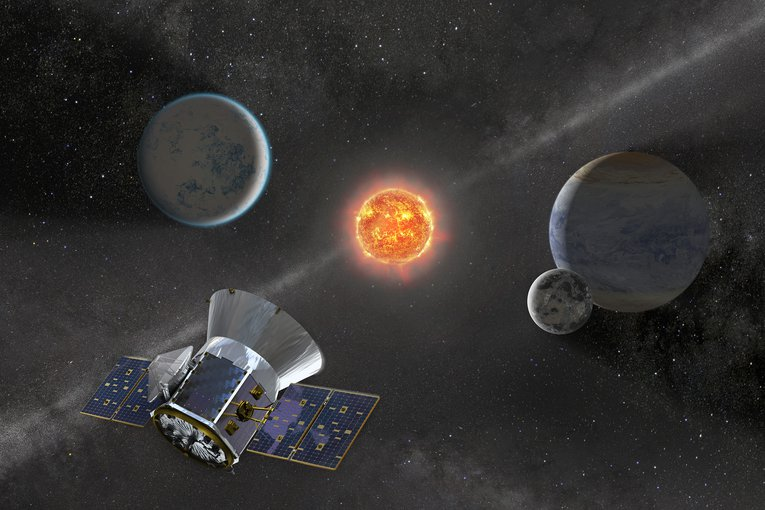 NASA's newest planet-hunter, TESS, will look around the brightest stars closest to our solar system for new worlds.