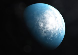TOI 700, a planetary system 100 light-years away in the constellation Dorado, is home to TOI 700 d, the first Earth-size habitable-zone planet discovered by NASA's Transiting Exoplanet Survey Satellite.