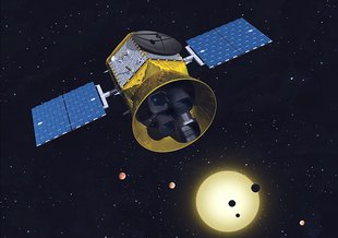 Transiting Exoplanet Survey Satellite (TESS) will look for planets around close, bright stars.
