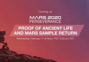 Searching for Life on Mars - NASA Press Conference on February 17, 2021.