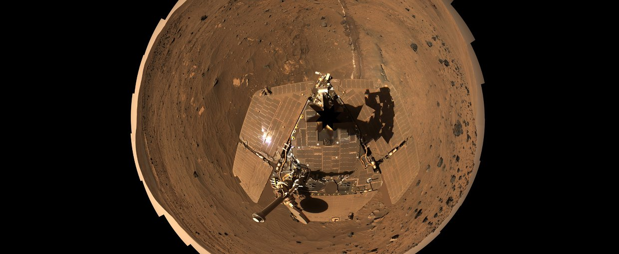 Spirit Mars Rover in 'McMurdo' Panorama, Polar Projection. Credit: Image credit: NASA/JPL-Caltech/Cornell Univ./Arizona State Univ.