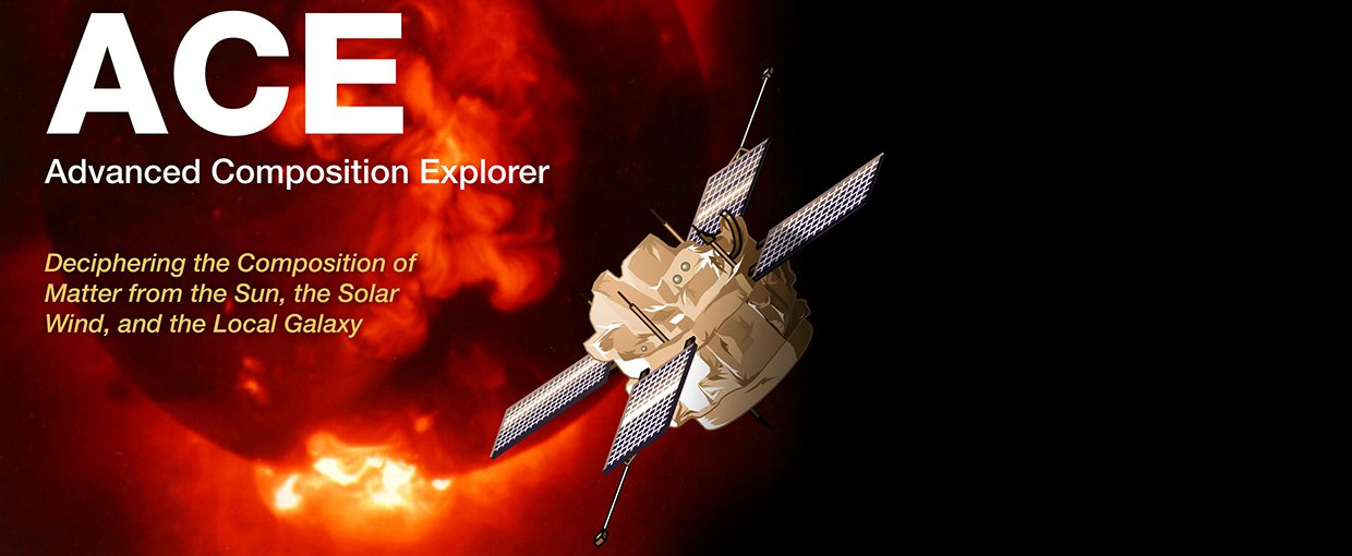 NASA's Advanced Composition Explorer (ACE) launched in 1997.