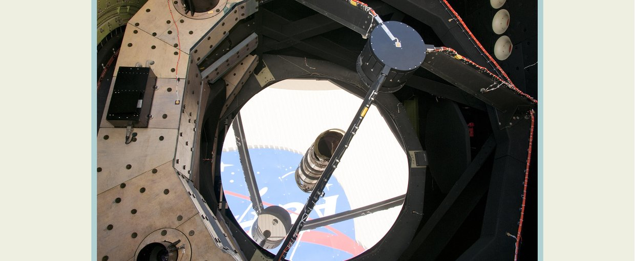 SOFIA Airborne Telescope Diameter. Credit: NASA