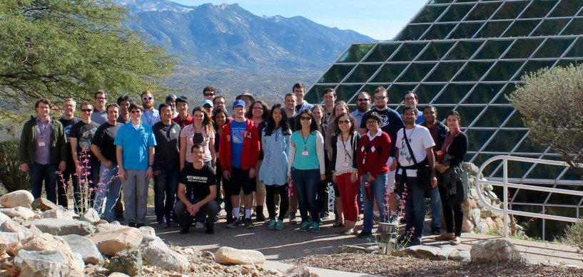 Arizona Winter School group photo.