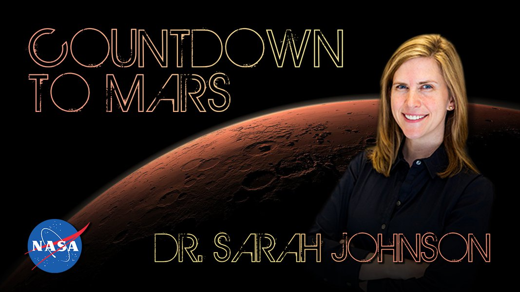 Countdown to Mars! with Dr. Sarah Johnson