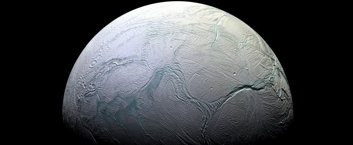 Tidal dissipation is usually most prominent in shallow oceans, while the ocean on Enceladus (a moon of Saturn) is believed to be tens of kilometers thick.