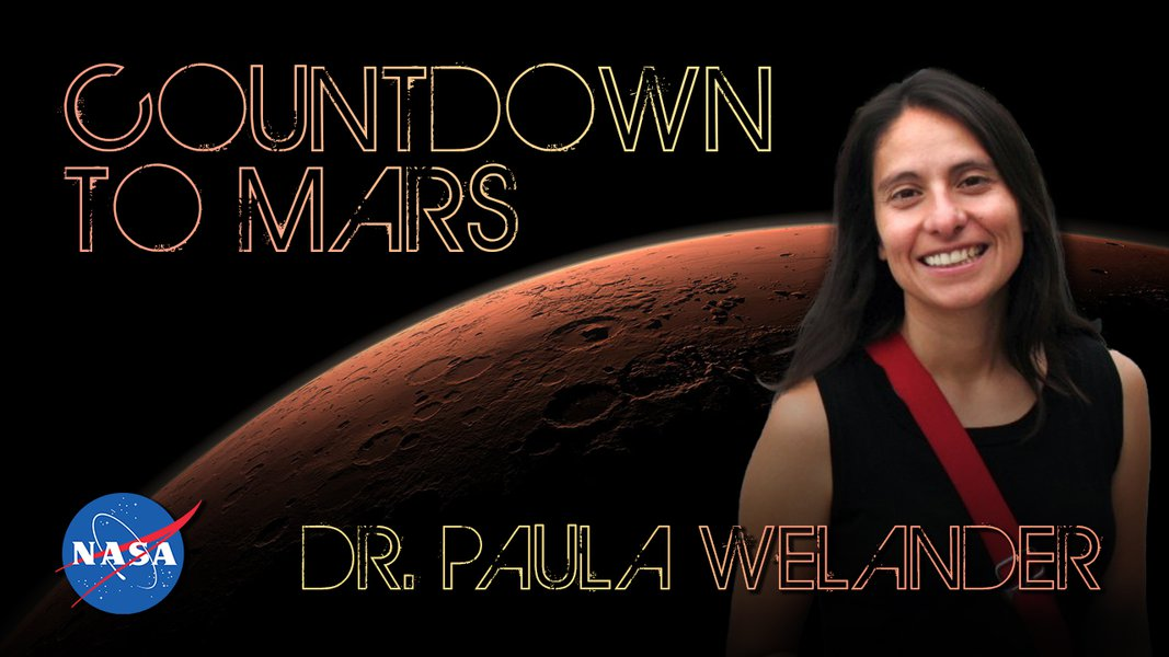 Countdown to Mars! with Dr Paula Welander