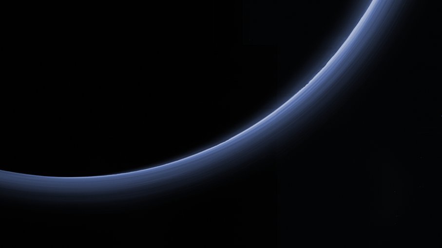 Another surprise from the New Horizons mission was finding haze on Pluto at far higher altitudes than scientists expected.