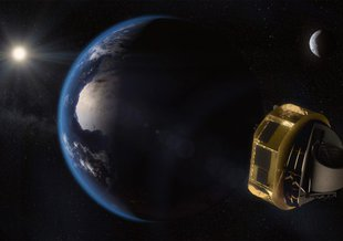 The Ariel space telescope will explore the atmospheres of exoplanets.