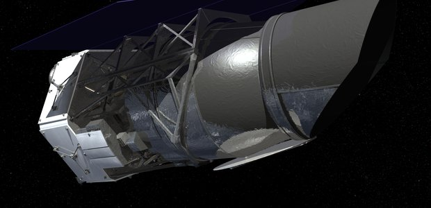 Artist impression of the WFIRST mission.