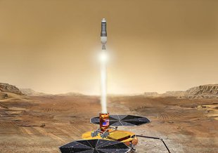 Mars Sample Return is a proposed mission to return samples from the surface of Mars to Earth.