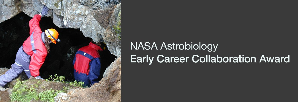 Applications for the next cycle of the NASA Astrobiology Early Career Collaboration Award are due October 2, 2017.