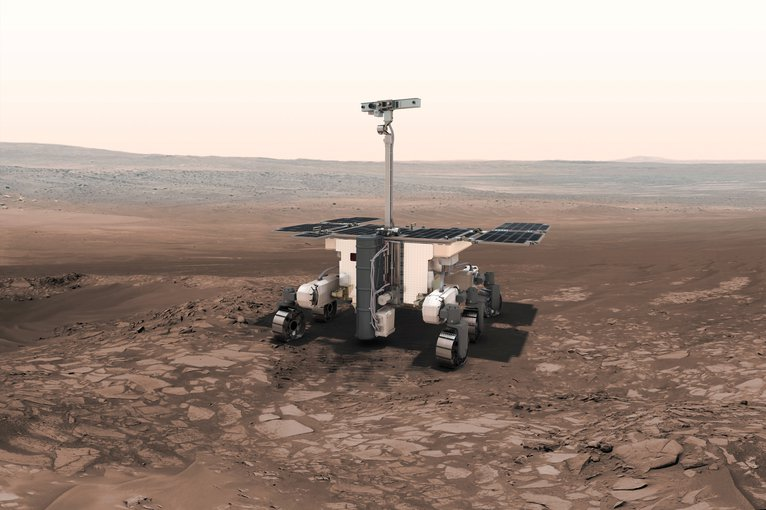 A theoretical instrument that would search for individual microbes on the surface of Mars.