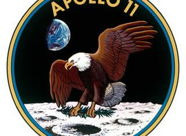 Apollo 11 mission patch. Credit: NASA