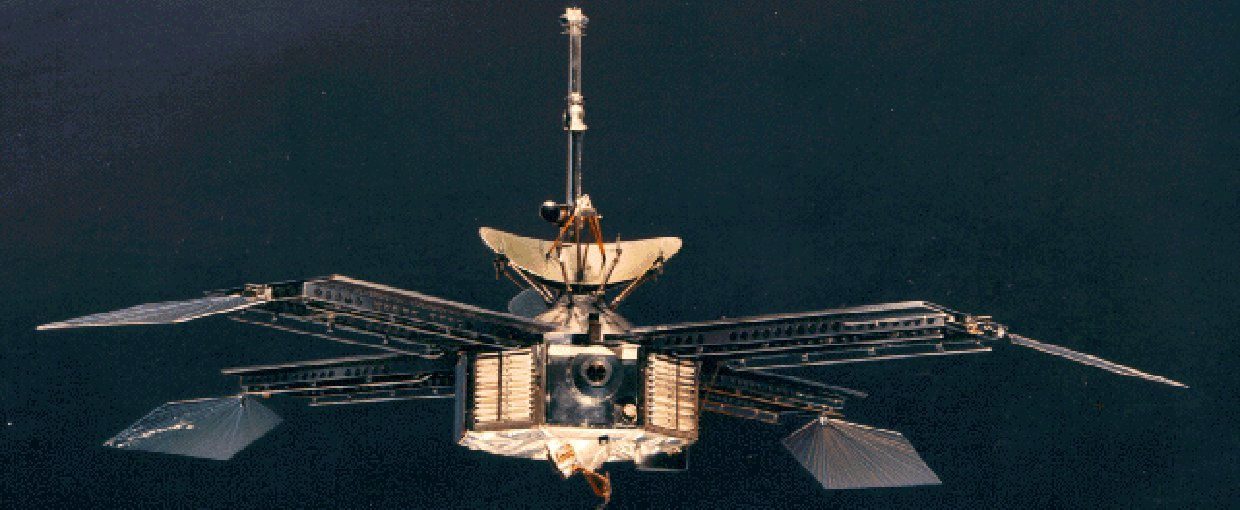 Artist impression of Mariner 4: Credit: NASA. None