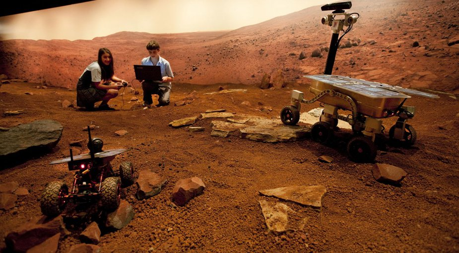 The Australian Center for Astrobiology maintains the largest Mars Yard in the world at Sydney's Museum of Applied Arts & Sciences.