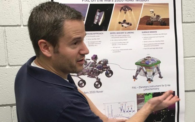 Joel Hurowitz is a geochemist and planetary scientist at Stony Brook University. He has worked on the science collected by Mars rovers since 2004.